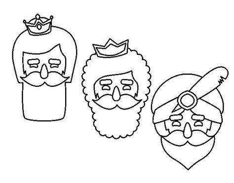 imagenes para colorear reyes magos dibujo de 3 reyes magos para colorear dibujos net