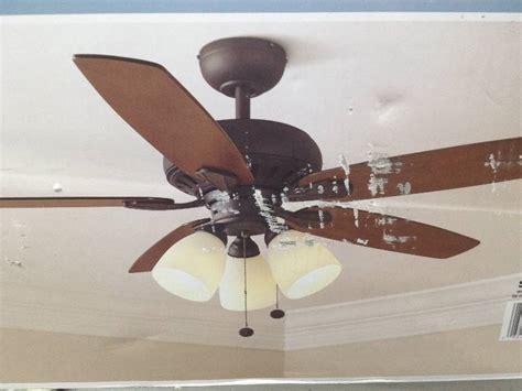 ceiling fan ballast hton bay led 52 inch large room ceiling fan rubbed bronze finish motor set