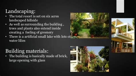 Landscape Design For Small Spaces Case Study On Resort