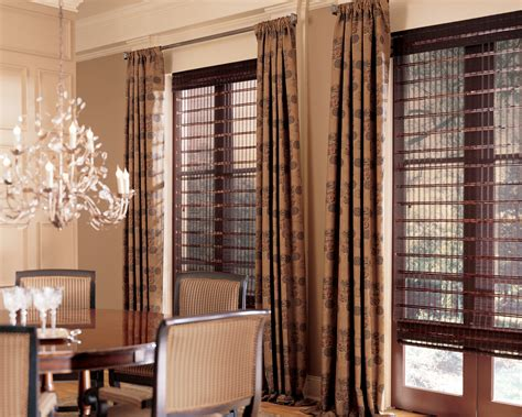 window treatment pairing blinds and shades with drapery serving fairfield