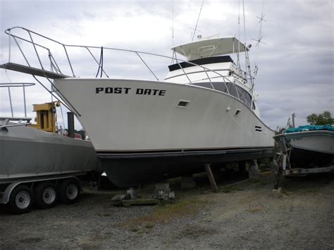 post boats 1977 42 post project boat for sale sold the hull