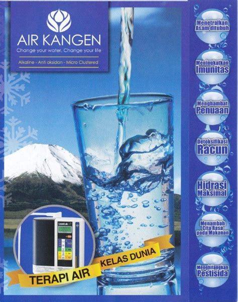 Dijamin Brosur Kangen Water brosur air kangen air kangen