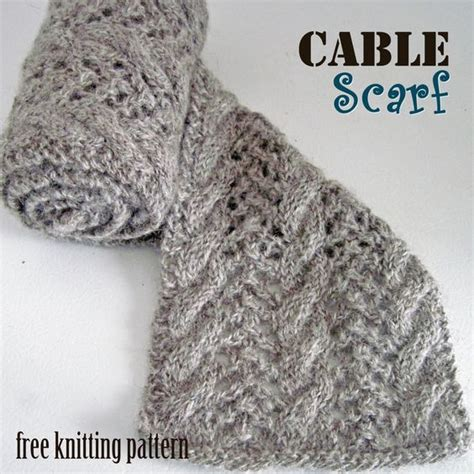 pattern knitting scarf cable cable scarf free knitting pattern c o w l s and s c a r