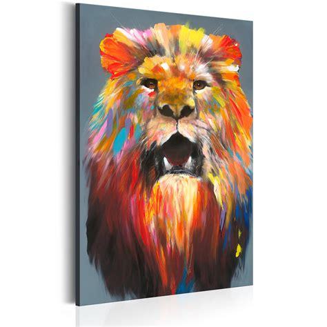 Tierbilder Auf Leinwand leinwand bilder kunstdruck bild l 214 we tier wie