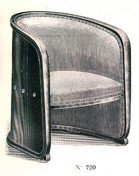 Kohn Stuhl by Fauteuil F 252 R Fa Kohn Nr 720f 1916 Josef Hoffmann