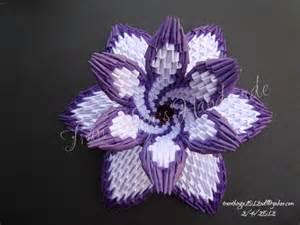 3d Origami Lotus Flower Tutorial
