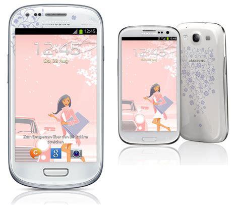Hp Samsung S3 Mini La Fleur samsung galaxy s3 mini kaufen la fleur schwarz wei 223 blau