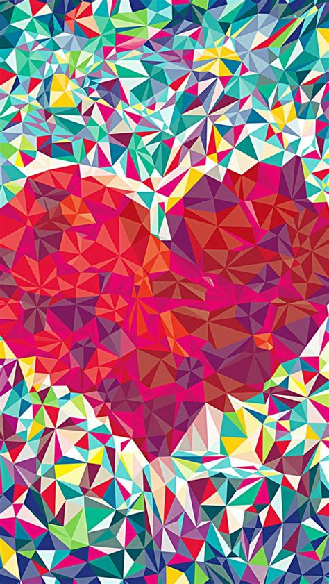 cool themes for your iphone colourful heart beautiful iphone wallpapers mobile9