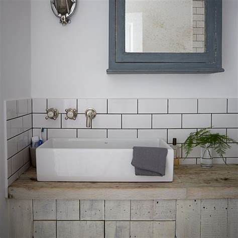 metro tiles bathroom industrial style bathroom with metro tiles decorating