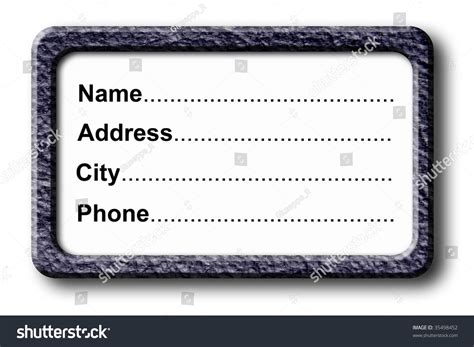 Search Address By Name And City Name Address City Phone Information Illustration Stock Illustration 35498452