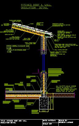 detail section design dwg section  autocad