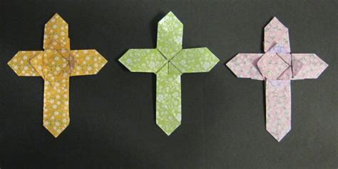 Origami Cross - easter 2015 reverend tim searle chandler s ford today