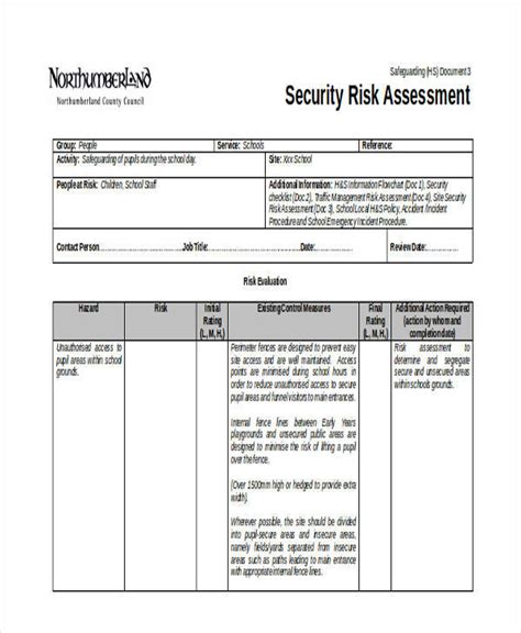meaningful use security risk analysis template 28 images