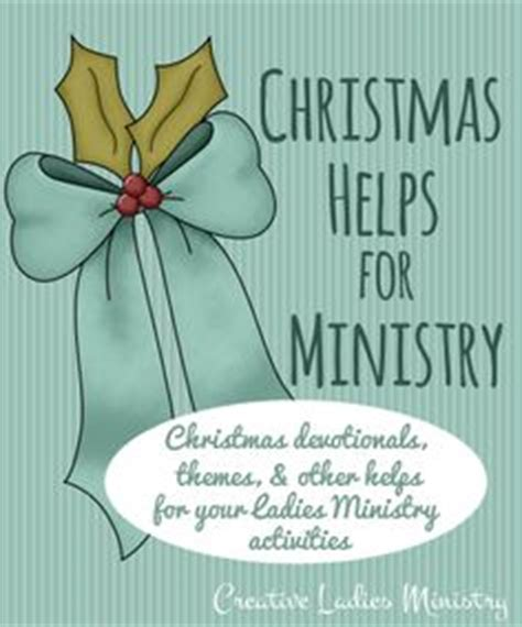christmas ideas for church ladies groups and womens