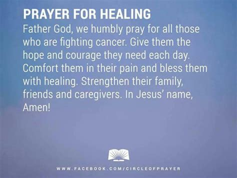 prayer for healing and comfort 9 powerful healing prayers for cancer patients nursebuff