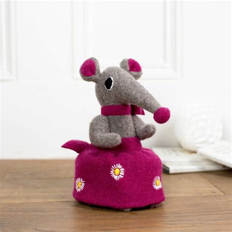 Soft Toys Handmade - handmade personalised soft shrew by cdbdi