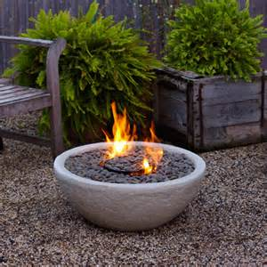 Fire bowl of a piece of pottery shelterness