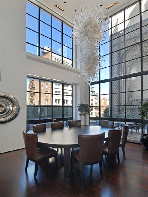 luxurious nyc penthouse apartment with astounding space design futura home decorating