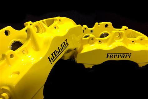 ferrari yellow paint ferrari yellow brake caliper paint in a kit diy or