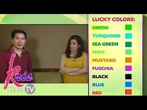 lucky color of the day lucky days colors and numbers for 2014