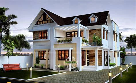 28 Sloped Roof Bungalow Font Elevations (Collection 1