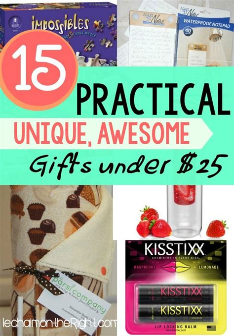 corny christmas gift ideas 15 practical unique non cheesy gifts 25 thrifty thursday lwsl gifts