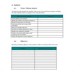 template for strategic planning 10 strategic plan templates