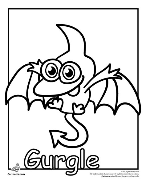 Moshi Monsters Coloring Pages Az Coloring Pages Moshling Colouring Pages