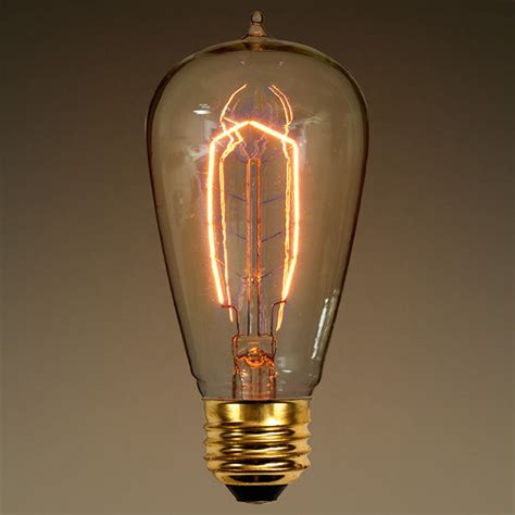 edison type light bulbs ferrowatt f1900 edison light bulb 40 watt