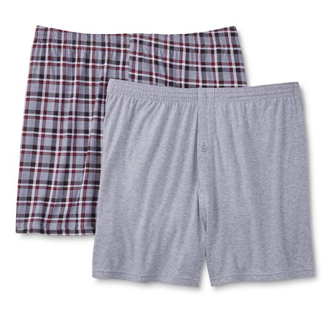 knit boxer shorts simply styled s 2 pack knit boxer shorts