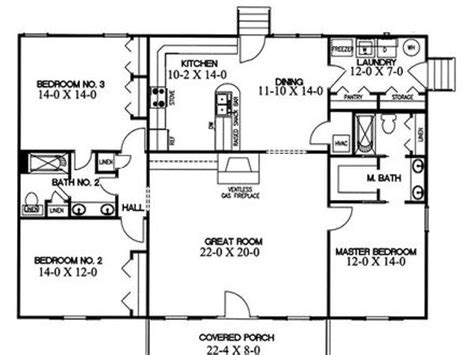 split bedroom house plans two story great room house plans 2 story great room