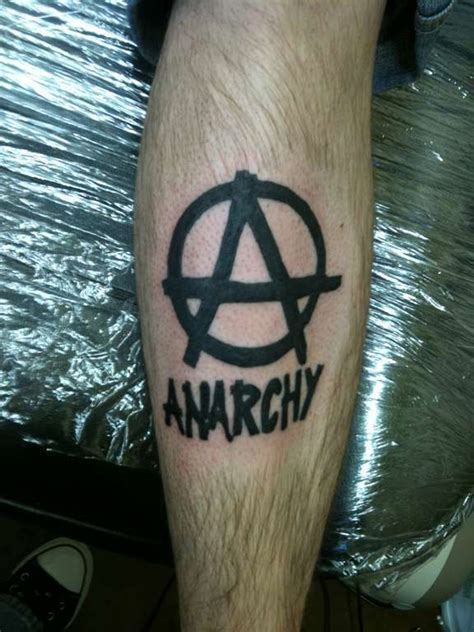 anarchy tattoo designs ideas  meaning tattoos