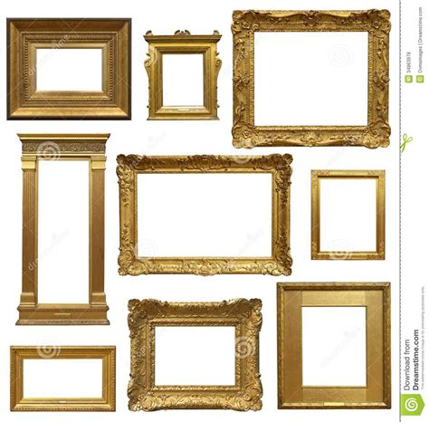 different picture frames gallery frames stock photo image of gallery