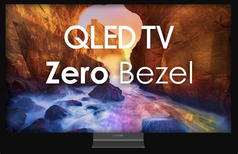 cornici per televisori samsung i tv qled quot zero bezel quot senza cornici in arrivo al