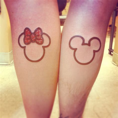 matching disney tattoos matching tattoos for couples top 20 designs