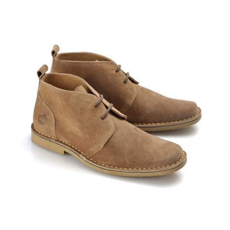 mens desert boot ikon mens ronson taupe suede desert boot marshall shoes