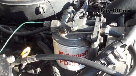 fuel pump diagnosis fix part  diesel idi ford