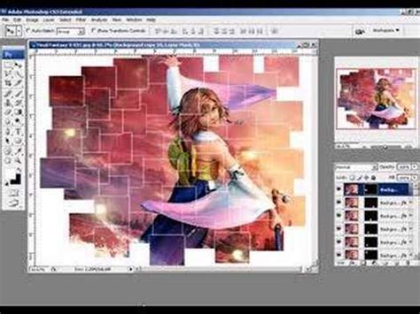 tutorial photoshop cs3 collage tutorial for collage of an image youtube