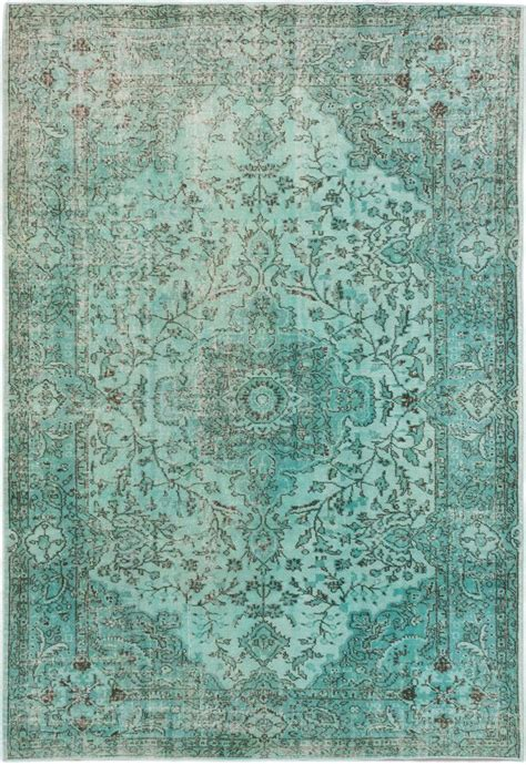turquoise green rug 6 9 quot x 10 0 quot turquoise blue green turkish overdyed rug r u g s green