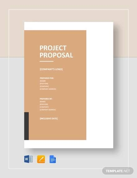 project proposal samples   ms word