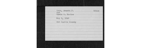State Of Delaware Marriage Records Delaware Vital Records Familytree