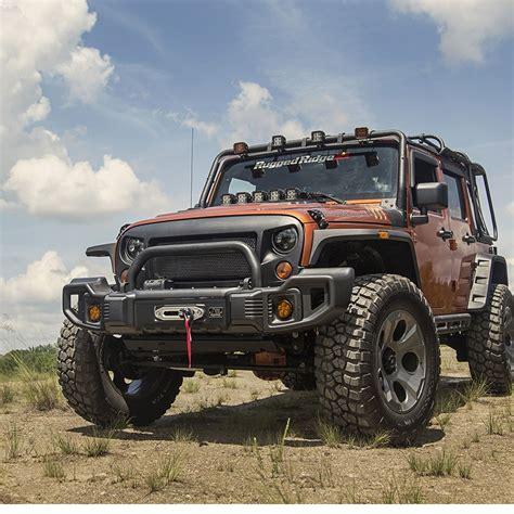 jeep jk spartacus bumper kit winch plate tire carrier grille