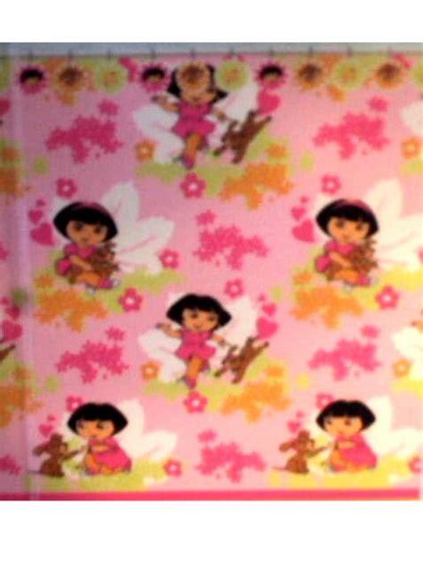 dora shower curtain dora explorer puppy shower curtain