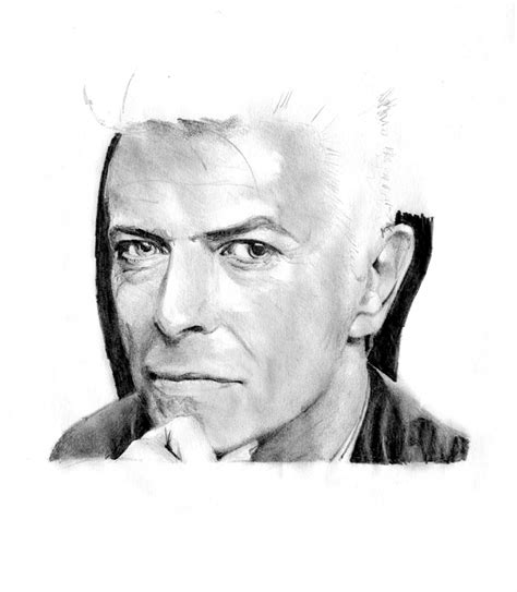 pencil drawings from photos free ref sketch david bowie by castorrr on deviantart