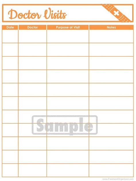 printable medical organizer 25 best images about personal medical record organizer on