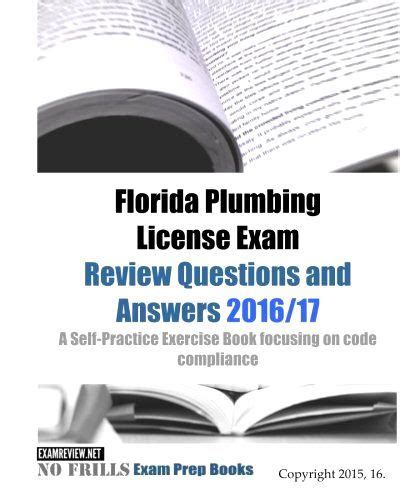 florida plumbing license review study guide practice