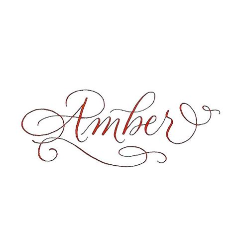 tattoo ideas for the name amber amber name tattoo design