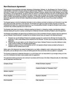 basic non disclosure agreement template simple confidentiality agreement template free 28 images