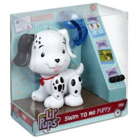 tikes swim to me puppy num noms glossy gloss truck speelset