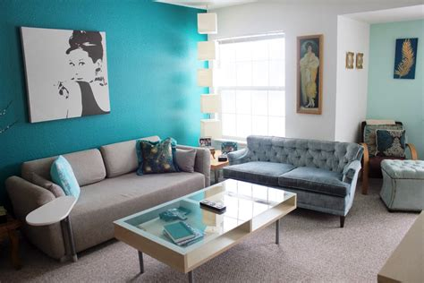 Turquoise Living Room Decor by Turquoise And Grey Living Room Ideas Modern House